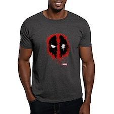 Deadpool Splatter Mask T-Shirt
