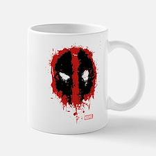 Deadpool Splatter Mask Small Small Mug