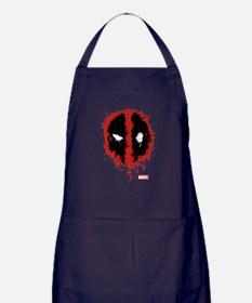 Deadpool Splatter Mask Apron (dark)