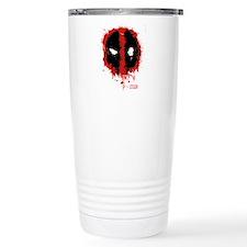 Deadpool Splatter Mask Thermos Mug