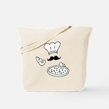 pizza chef Tote Bag