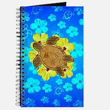 Hawaiian Turtle Nautical Map Journal