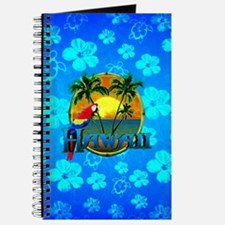 Hawaii Sunset Blue Turtles Journal