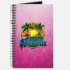 Pink Hawaii Sunset Journal