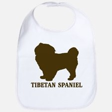 Tibetan Spaniel (brown) Bib