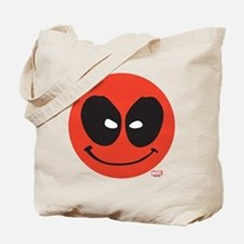 Deadpool Smiley Face Tote Bag