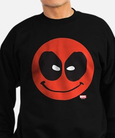 Deadpool Smiley Face Sweatshirt