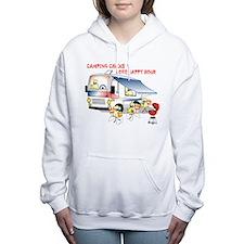 Cute Motorhome Women's Hooded Sweatshirt
