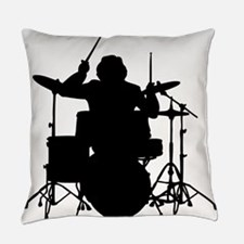 drummer Everyday Pillow