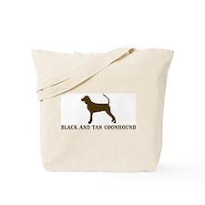 Black and Tan Coonhound (brow Tote Bag