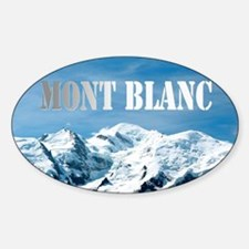 Mont Blanc Pro photo Decal