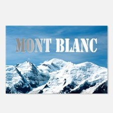 Mont Blanc Pro photo Postcards (Package of 8)