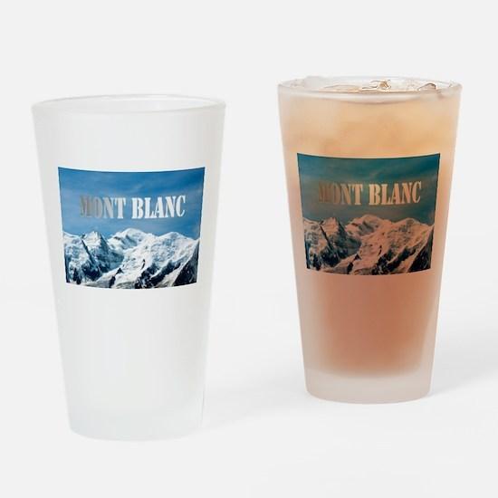 Mont Blanc Pro photo Drinking Glass