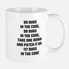 99 Bugs In The Code Mugs