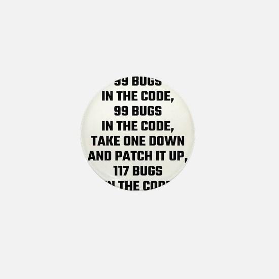 99 Bugs In The Code Mini Button