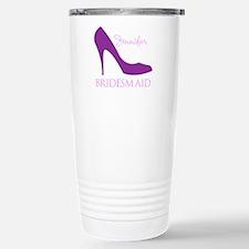 Purple Bridesmaid Travel Mug