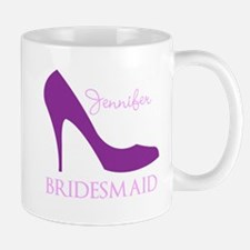 Purple Bridesmaid Mug