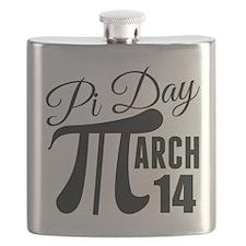 Cute Pi day Flask