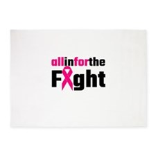 All In For The Fight 5'x7'Area Rug