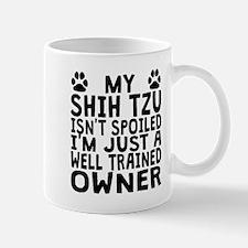 Well Trained Shih Tzu Owner Mugs