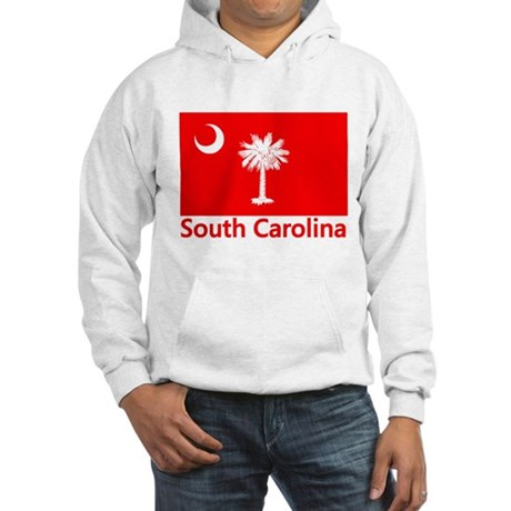South Carolina Flag Hooded Sweatshirt