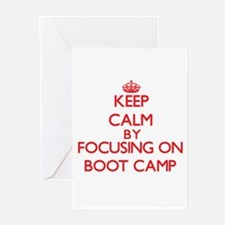 Cute Marine boot camp women Greeting Cards (Pk of 20)