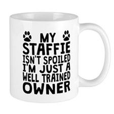 Well Trained Staffie Owner Mugs