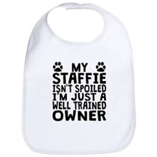 Well Trained Staffie Owner Bib