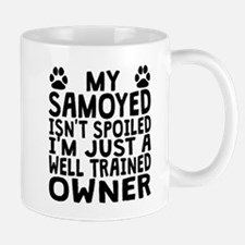Well Trained Samoyed Owner Mugs