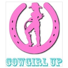 Cowgirl Up Canvas Art