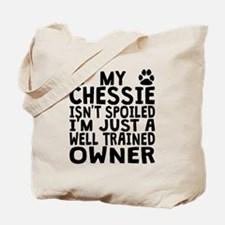 Well Trained Chessie Owner Tote Bag