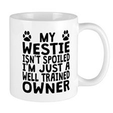 Well Trained Westie Owner Mugs