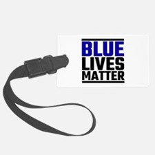 Blue Lives Matter Luggage Tag