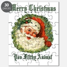 merry christmas ya filthy animal Puzzle