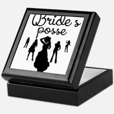 Bride's Posse Keepsake Box
