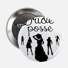 "Bride's Posse 2.25"" Button (10 pack)"