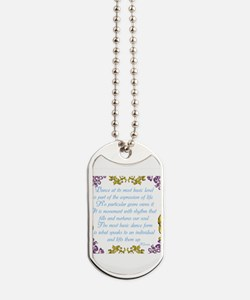 What is Dance? Dog Tags