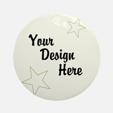 Design Your Own Round Ornament