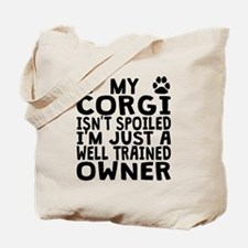 Well Trained Corgi Owner Tote Bag