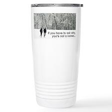 Cute Running Travel Mug