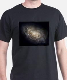 Spiral Galaxy NGC 4414 by the Hubble Space T-Shirt