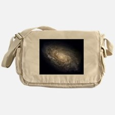 Spiral Galaxy NGC 4414 by the Hubble Messenger Bag
