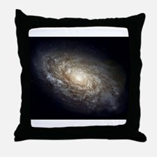 Spiral Galaxy NGC 4414 by the Hubble Throw Pillow