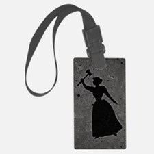 Axe Murderess Luggage Tag