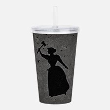 Axe Murderess Acrylic Double-wall Tumbler