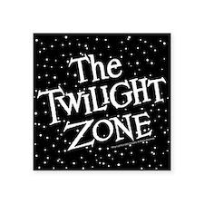 """The Twilight Zone Square Sticker 3"""" x 3"""""""