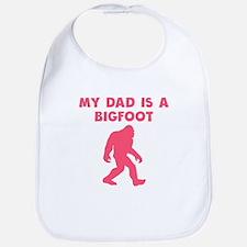 My Dad Is A Bigfoot Bib