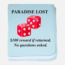 Paradise Dice Casino baby blanket