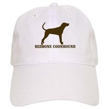 Redbone)Coonhound (brown) Baseball Cap