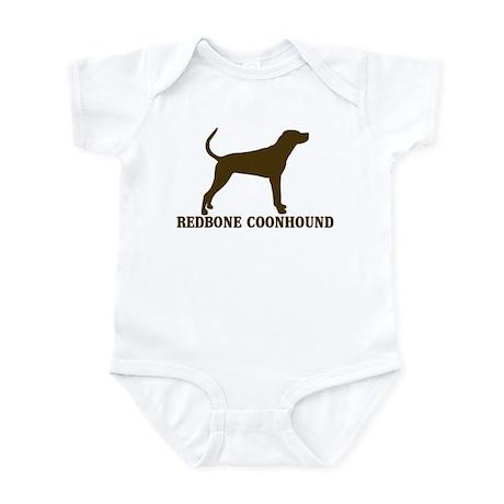 Redbone)Coonhound (brown) Infant Bodysuit